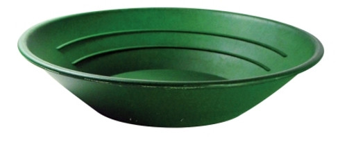 "10"" Gold Pan Green Color"