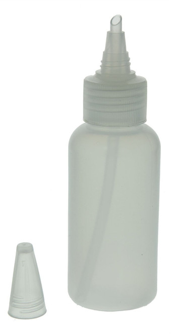 """4FLOZ Snifter Gold Panning Bottle 5 1/4""""X19/20"""" Diameter"""