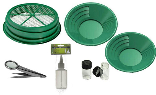 7PC Gold Panning Kit