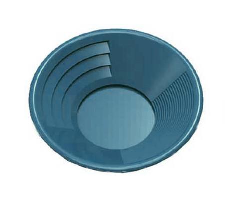 "10"" Deep Riffle Gold Pan Blue"