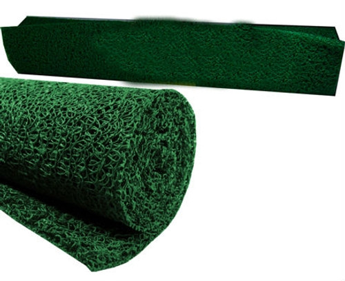 "Miner's Moss,Sluice Box Matting, 12""x36"" 10mm Thick,Green Color"