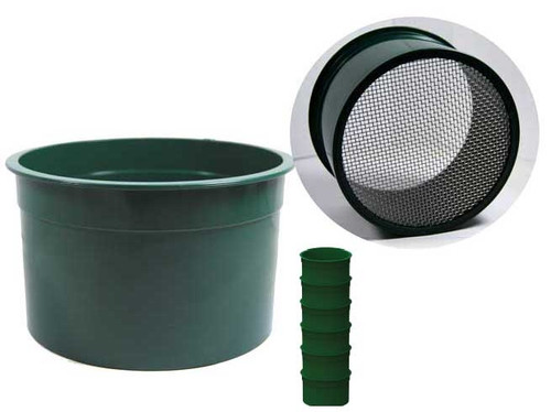 """Sifting Pans Stackable Minis 10 Hole 6"""""""