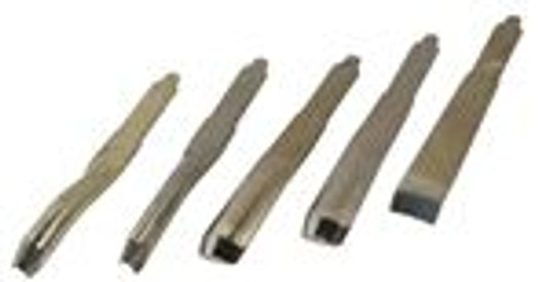 Rotary 5PC Carving Chisel Set For Hammer Chuck Replacements