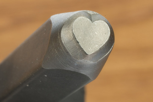 Metal Heart Punch 6mm