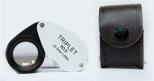 10x21mm Professional Quality Heat Resistant Triplet Loupehrome Triplet Loupe
