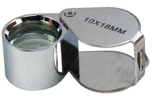 10 X 18mm Doublet Lens Jewelers Loupe