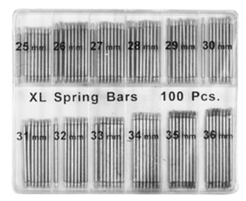 100 Pc Spring Bar Watch Jumbo Kit