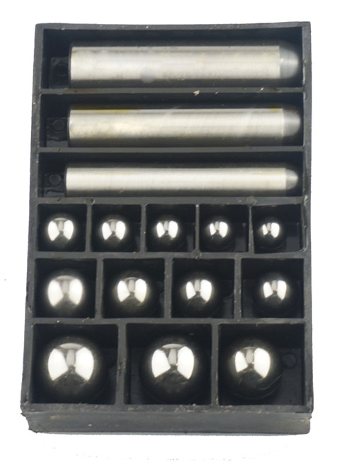 Dapping Block Set With Magnetic Ball Set Of 12