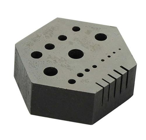 Hexagonal Mini Steel Block