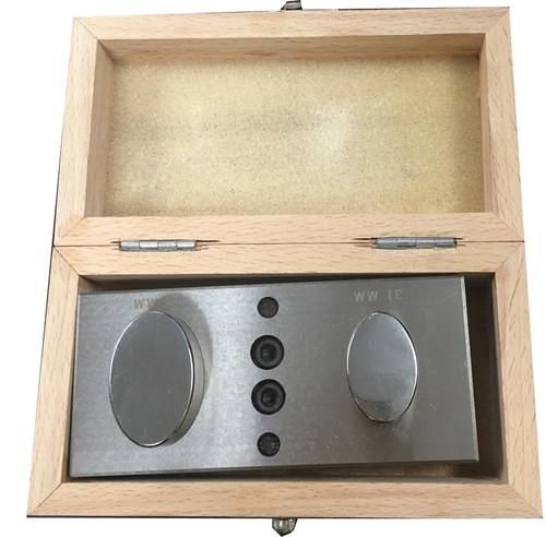 2 PC Jumbo Oval Disc Cutter Punching Jewelry
