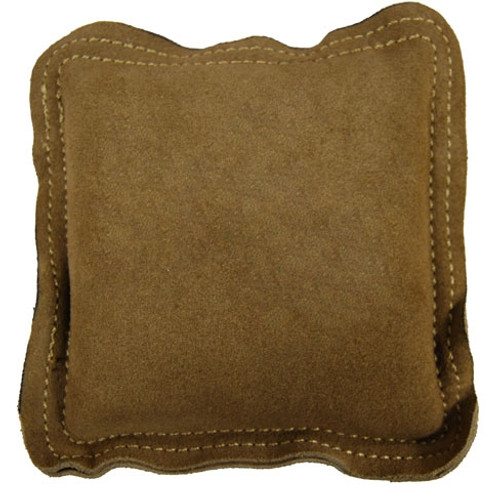 """Suede Leather Bench Block Pad 5 1/2"""""""