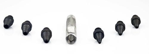 7Pc Detachable Hollow Leather Punch