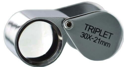 30X Triplet Lens 21mm Loupe