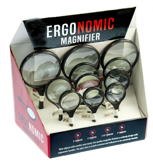 12 Piece Ergonomic Magnifier Set