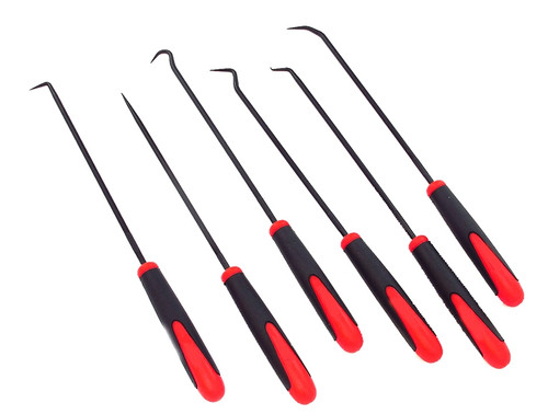 6 Piece Hook Set Plastic Handle