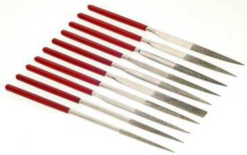 Professional Series Diamond File Set 10PC