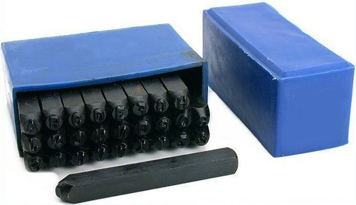 """Jewelry Letter Punch Set 3/8"""""""