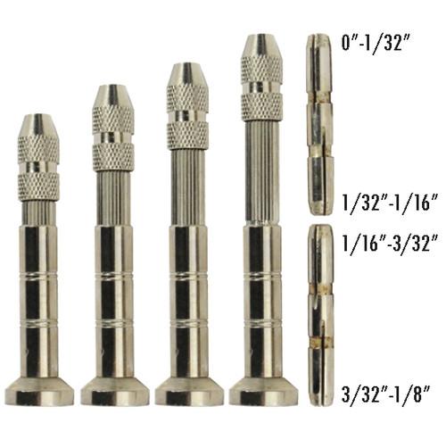 4PC Pin Vise With Swivel Kit