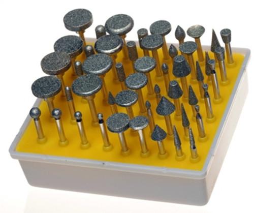 Diamond Rotary Tool Kit 600grit 50PC Ultra Fine