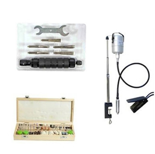 Ultimate Rotary Tool Kit With Hammer Chuck and 228PC Rotary kit