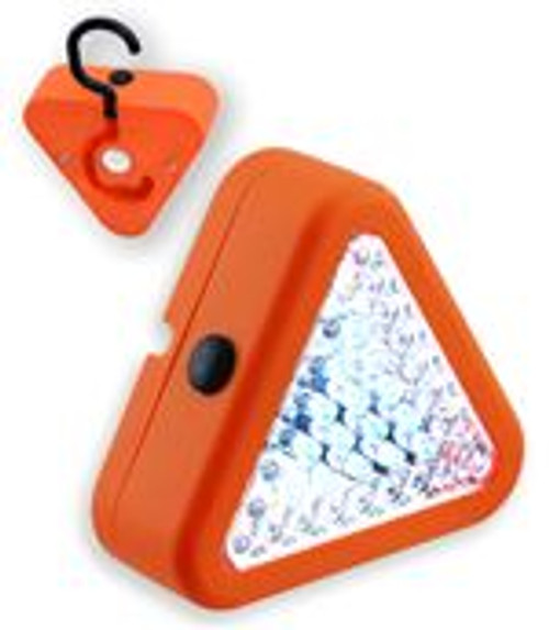 39 LED Emergency Warning Triangle Worklight Hang Or Magnet