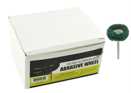 Abrasive Wheel Buffs #150 Grit Green 100PC