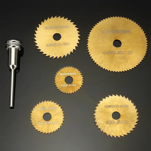 Titanium Coated HSS Rotary Saw Blade Set