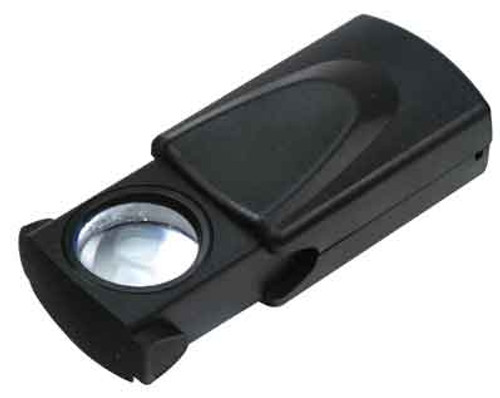 10X Sliding Magnifier With Light 1""