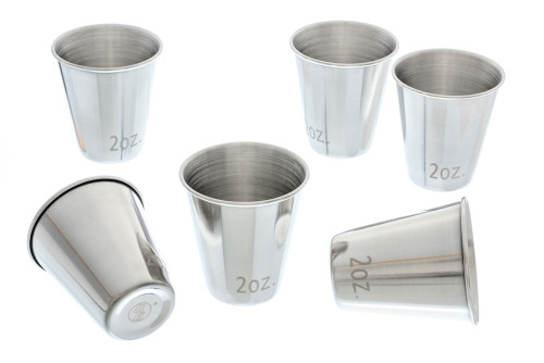 Stainless Steel Shot Glass Kit