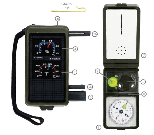 Camping Survival Tool 10 Function