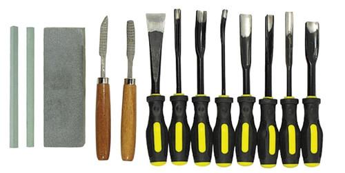 Wood Carving Chisel Set 13Pc