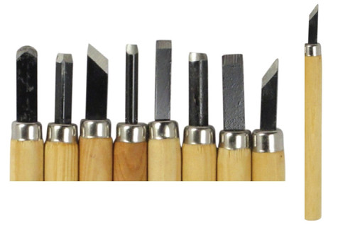 Wood Carving Chisels 8PC Kit
