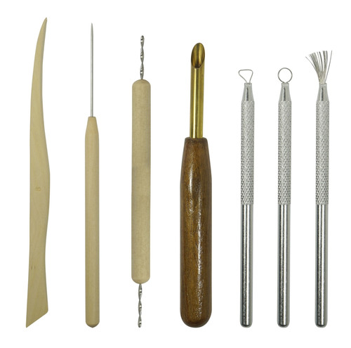7pc Sculpting Tool Set For Wax Clay Art Etc
