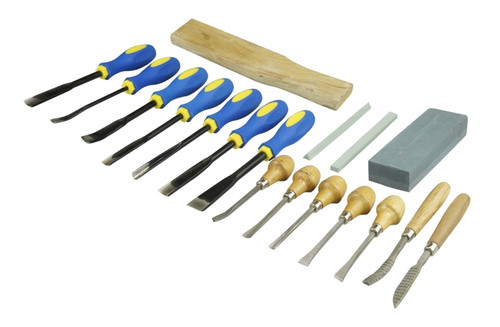 Wood Carving Chisel Set 18Pc