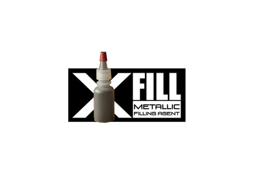 x fill black bottle