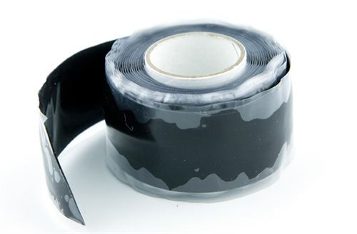 Best Silicone Tape Ever !  X TAPE BLACK 10' MADE IN USA