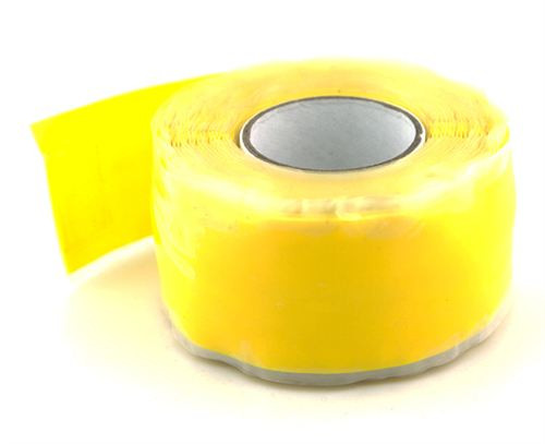 Self Fusing Silicone Tape Made In USA X TAPE 10' Yellow Roll