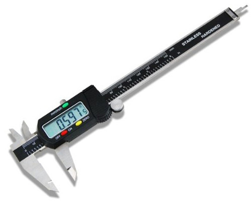 "Digital Caliper 6"" SAE & Metric Reading Combo"