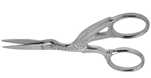 "Premium Fine Point Gold Stork Scissor 3 1/2"""