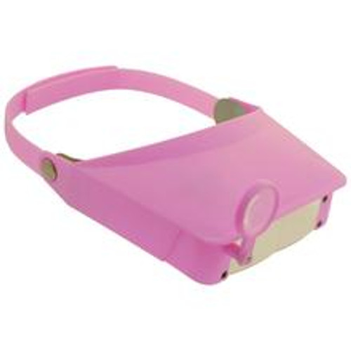 Pink Head Magnifier