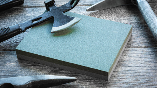 "Double Sided Sharpening Stone 8""X6""X1"""