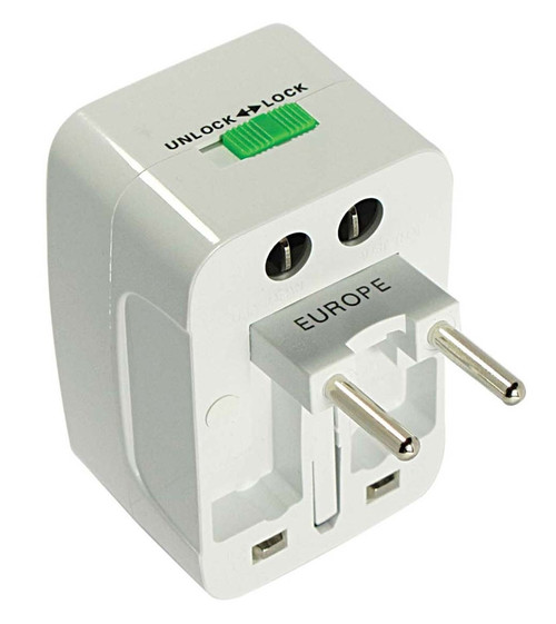 Universal International CE Adaptor Can Be Used In 135 Countries