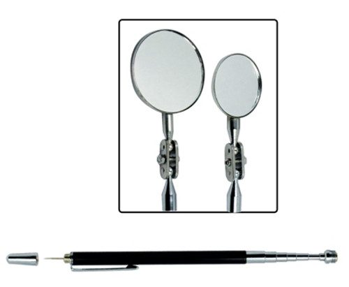 4 in 1 Telescoping Inspection Magnet / Mirror with Piercing Needle