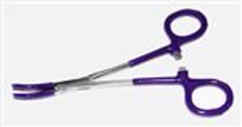 Plastic Dipped Curved Forceps