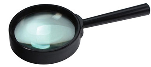"6.45X Hand Held Glass Lens Magnifier 2"""