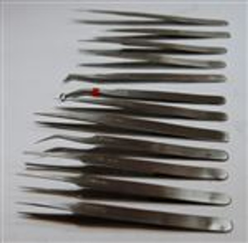 Non Magnetic Tweezer (12 Pc Set)