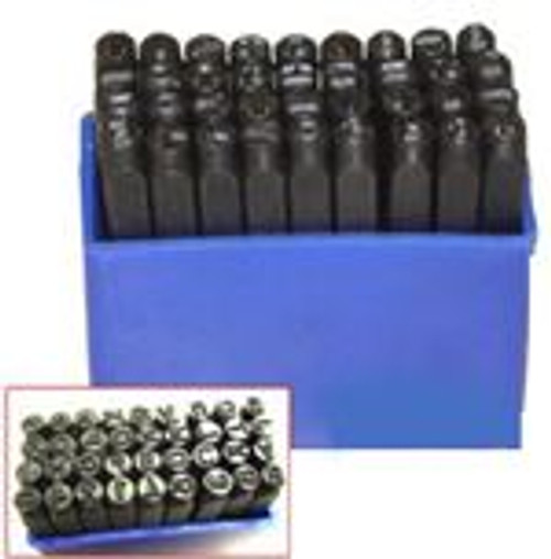36 Pc Number & Letter Punch Set, 3 MM