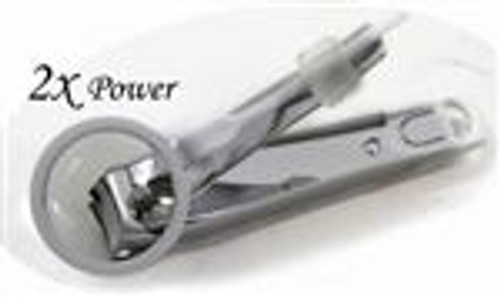 Toe Nail Clipper with Magnifier & Catcher