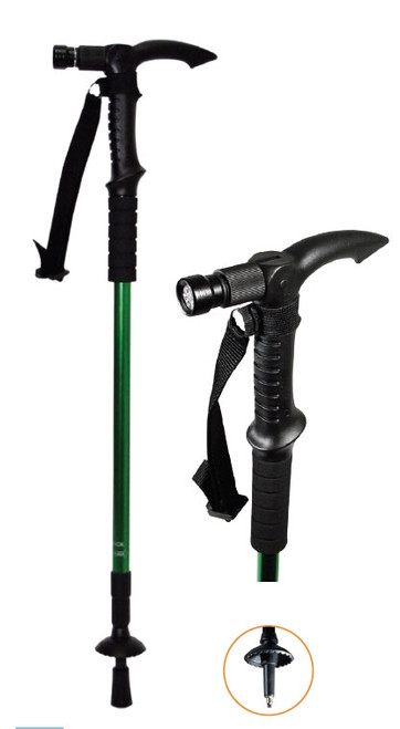 Illuminated Collapsible Walking Stick