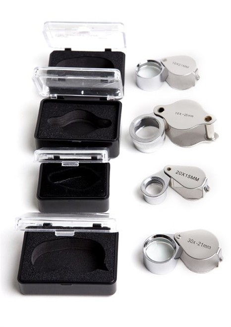 The Ultimate Jeweler's Loupe Set